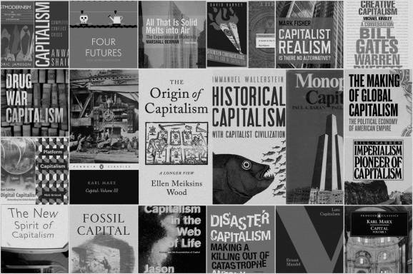 Capitalism WorkShop Collage BW